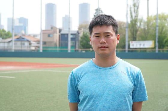 社会人野球JX-ENEOSに所属する大場遼太郎【写真:編集部】