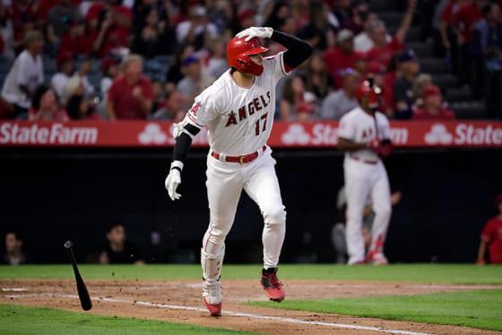 2年連続2桁本塁打を放ったエンゼルス・大谷翔平【写真:AP】