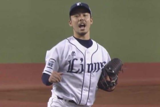 3勝目を挙げた西武・本田圭佑【画像:(C)PLM】