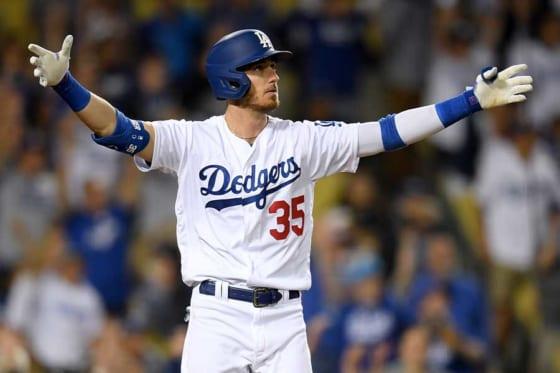 サヨナラ本塁打を放ったドジャースのコーディ・ベリンジャー【写真:Getty Images】