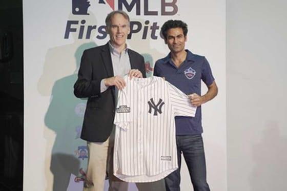 MLBインドオフィス設立会見の様子【写真提供:ジム・スモール】