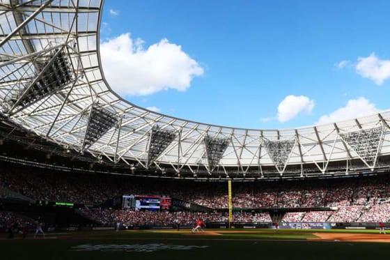 MLB史上初の欧州開催となったロンドンスタジアムの様子【写真:Getty Images】