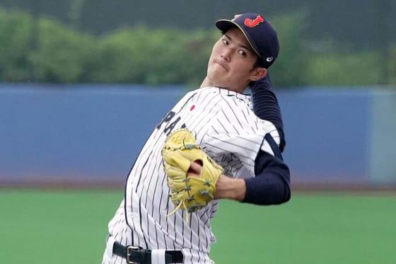 侍ジャパン大学代表・森下暢仁【写真:Getty Images】