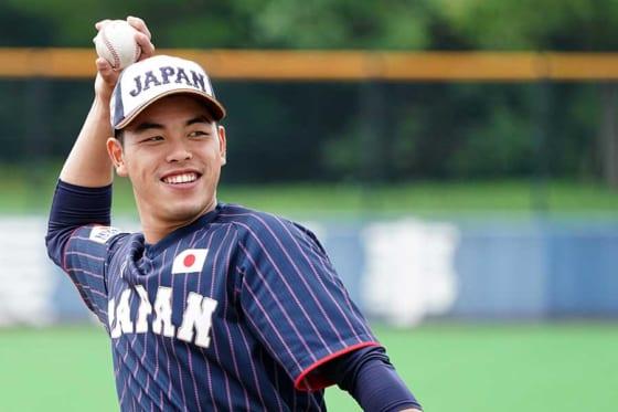 侍ジャパン日本代表・小川龍成【写真:Getty Images】