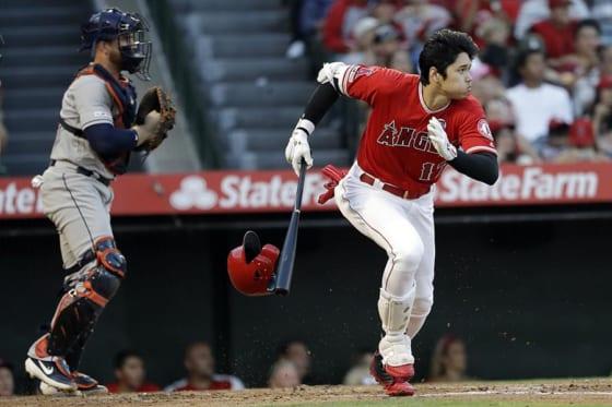 2安打1打点1盗塁と活躍したエンゼルス・大谷翔平【写真:AP】