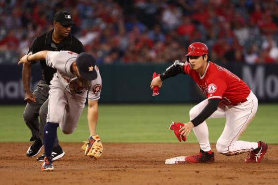 2安打1打点盗塁と活躍したエンゼルス・大谷翔平【写真:Getty Images】