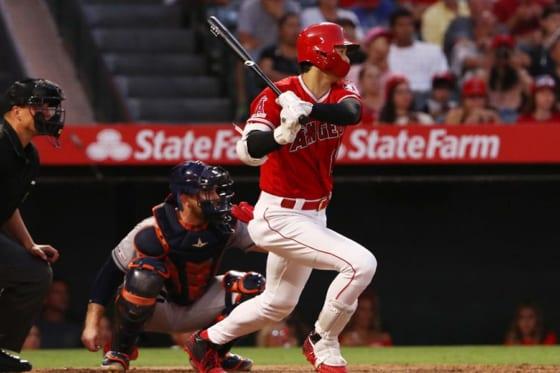 2安打1打点1盗塁と活躍したエンゼルス・大谷翔平【写真:Getty Images】