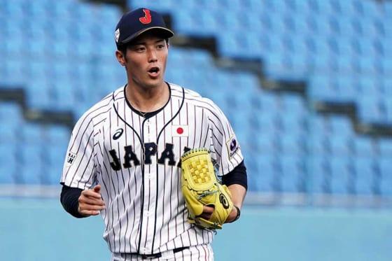 第3戦に先発した侍ジャパン大学代表・森下暢仁【写真:Getty Images】