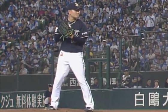 今季2勝目を挙げたオリックス・竹安大知【画像:(C)PLM】