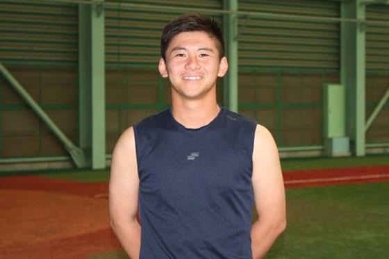 現在は近畿大学野球部に所属している履正社OBの井町大生【写真:沢井史】