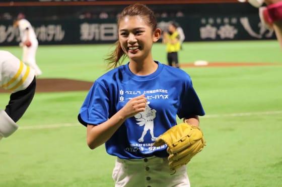 タレントで女優の坪井ミサトさん【写真:福谷佑介】