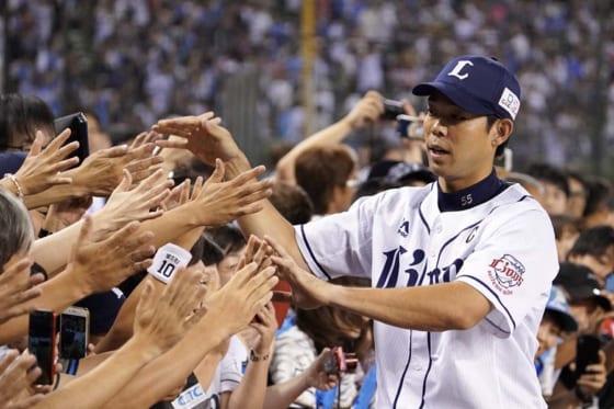 3安打1本塁打2打点と活躍した西武・秋山翔吾【写真:荒川祐史】