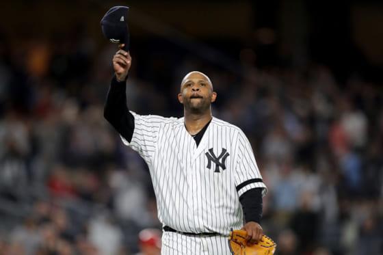 正式に現役引退を表明したヤンキースのCC・サバシア【写真:Getty Images】