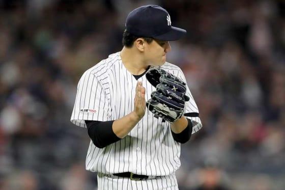 11勝目を挙げたヤンキース・田中将大【写真:Getty Images】