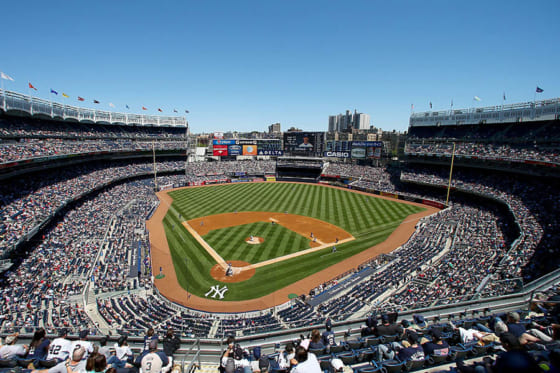 ヤンキースの本拠地・ヤンキースタジアム【写真:Getty Images】