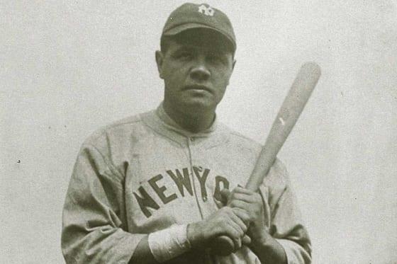ベーブ・ルースの活躍は野球における記録への関心を高めた【写真:Getty Images】