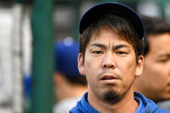 ドジャースからツインズへの移籍が報じられている前田健太【写真:Getty Images】