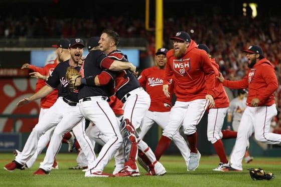 ナショナルズに「歴史は味方しない」 MLB公式が4連勝での優勝チームの ...