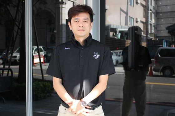 宣推部主任として台湾チームのサポートをしている劉東洋氏【写真:広尾晃】