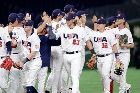 アメリカはチャイニーズ・タイペイ相手に3-2で逆転勝利【写真:Getty Images】