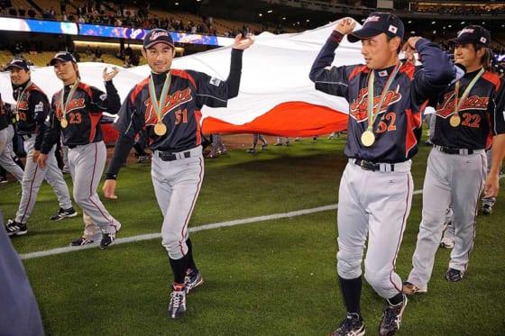 韓国との熱戦を制し日本は第1回WBC王者に輝いた【写真:Getty Images】