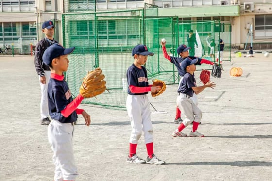 少年野球界に新風を吹き込んでいる川崎市のブエナビスタ少年野球クラブ【写真:編集部】