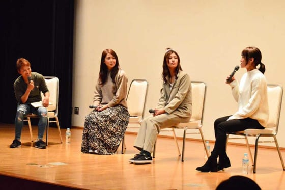 「Talk show with 6 players」で埼玉アストライアメンバーがトークを展開【写真:編集部】