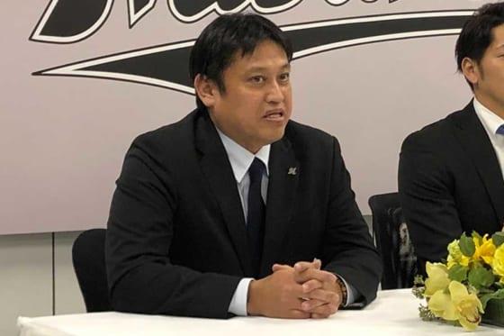 ロッテ・松本尚樹球団本部長【写真:編集部】