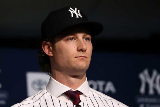 ヤンキースと超大型契約を結んだゲリット・コール【写真:Getty Images】