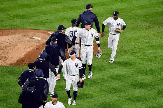 MLBの2020年シーズンは勝利後のハイタッチなどが禁止に!?【写真:Getty Images】
