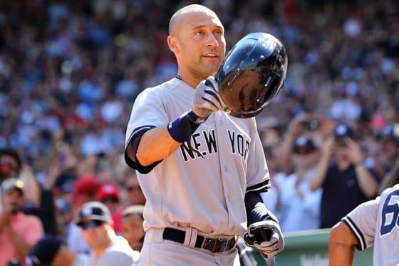現役時代はヤンキースでプレーしたデレク・ジーター氏【写真:Getty Images】