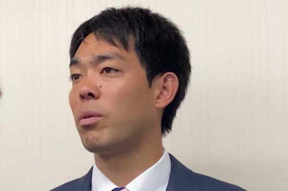 神奈川学童野球指導者セミナーに登場したレッズ・秋山翔吾【写真:編集部】