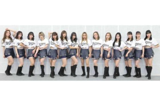 BsGirlsの2020年メンバー【画像提供:オリックス・バファローズ】