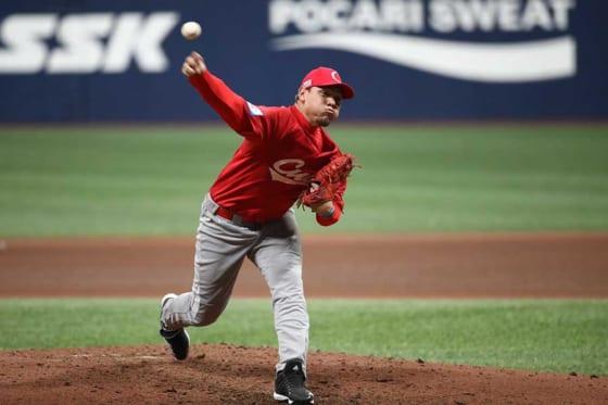 プレミア12でキューバ代表として出場していたヤリエル・ロドリゲス【写真:Getty Images】