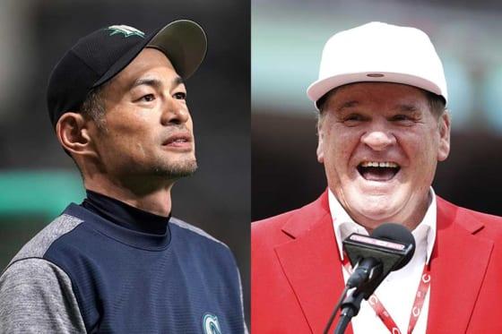 イチロー氏とローズ氏のヒットキング論争が再燃【写真:Getty Images】