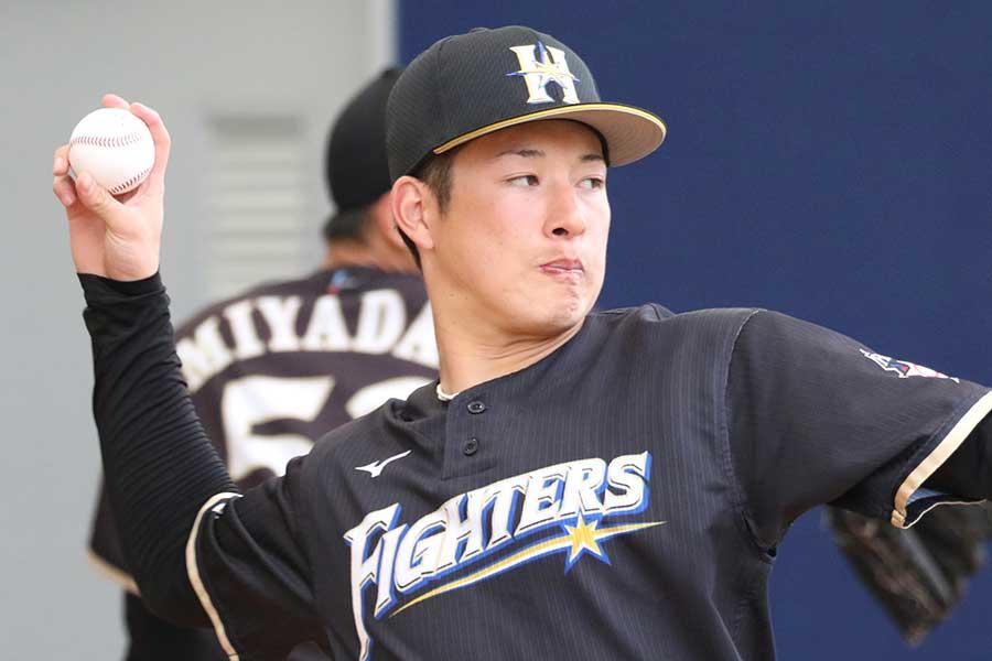 日ハム 紅白 戦 日本ハム・吉田輝星が紅白戦先発 力のある直球で2回を無失点