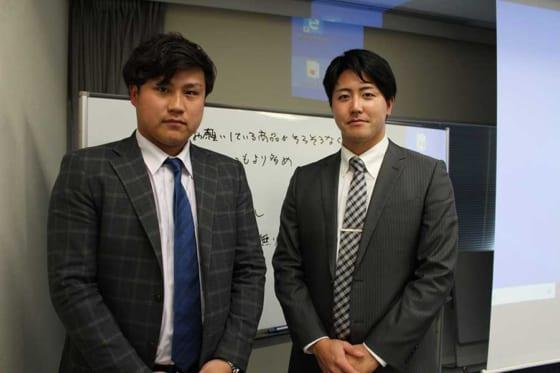 昨年まで日本ハムに在籍していた森本龍弥氏(左)と森山恵佑氏【写真:広尾晃】