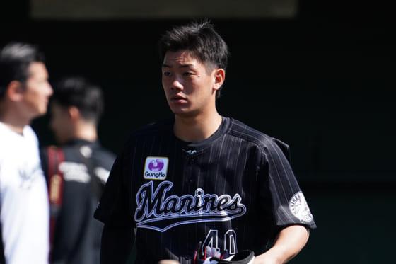 ロッテ・福田光輝【写真:荒川祐史】