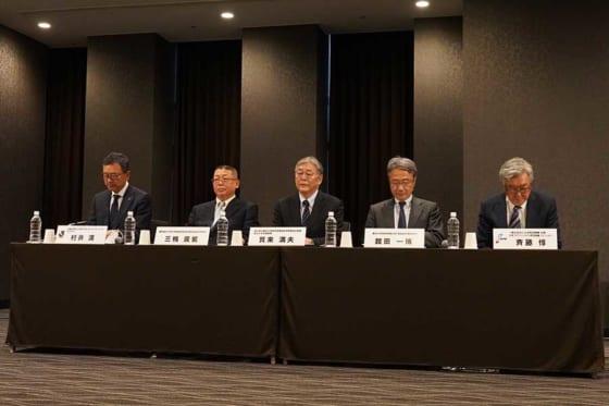 「第4回新型コロナウイルス対策連絡会議」が東京都内で開かれた【写真:荒川祐史】