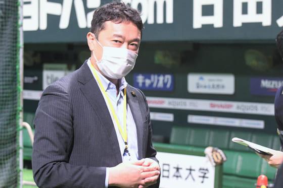 ソフトバンク・三笠杉彦取締役GM【写真:藤浦一都】