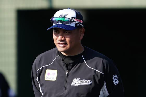 ロッテ・井口監督【写真:荒川祐史】