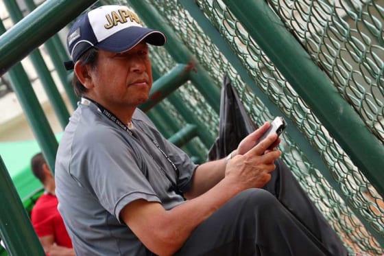 日本ソフトボール協会の矢端信介強化副本部長兼チームリーダー【写真:本人提供】