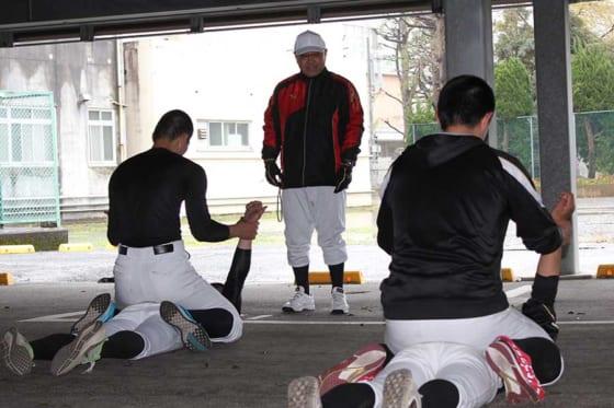 4月1日に永田新監督の下でスタートを切った日大三島【写真:橋本健吾】