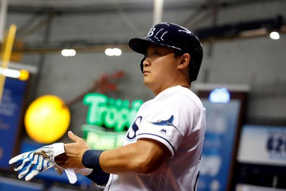 MLBではレイズなどでプレーしたハンク・コンガー氏【写真:Getty Images】