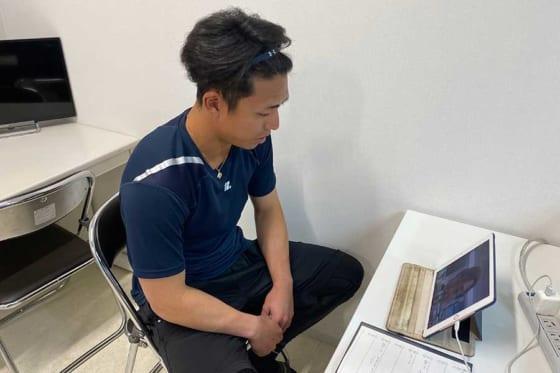 オンライン会見を行ったソフトバンク・九鬼隆平【写真提供:福岡ソフトバンクホークス】
