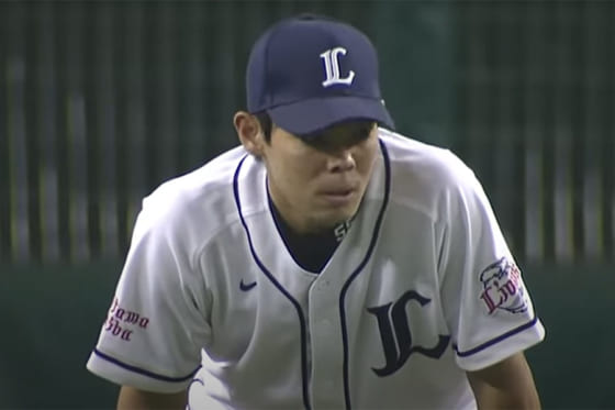 西武時代の秋山翔吾【画像:パーソル パ・リーグTV】