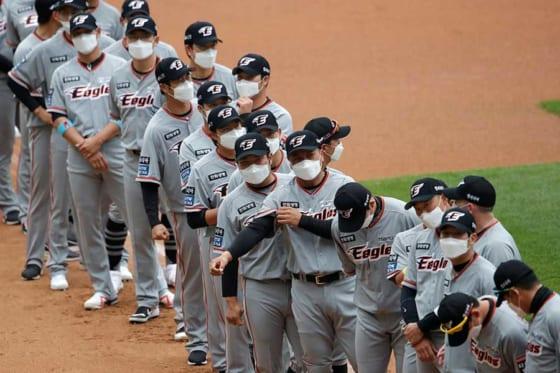 韓国プロ野球は5月5日に無観客で開幕した【写真:AP】