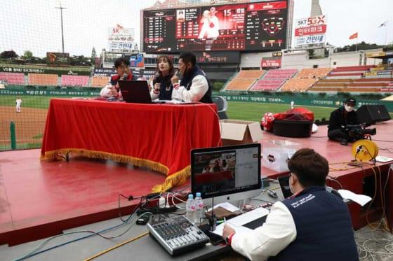 5月5日に無観客で開幕した韓国プロ野球【写真:Getty Images】
