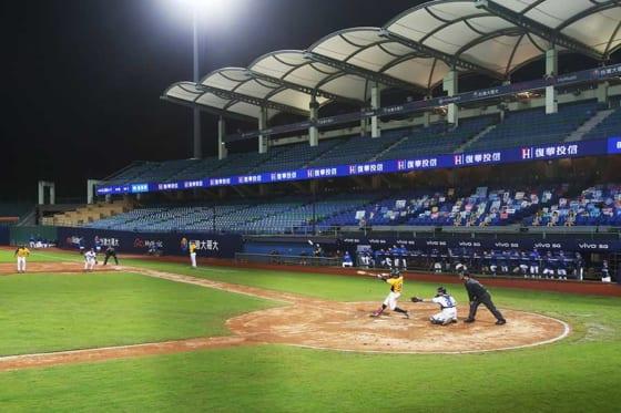 台湾では世界の主要リーグに先駆けて無観客で開幕をしている【写真:AP】