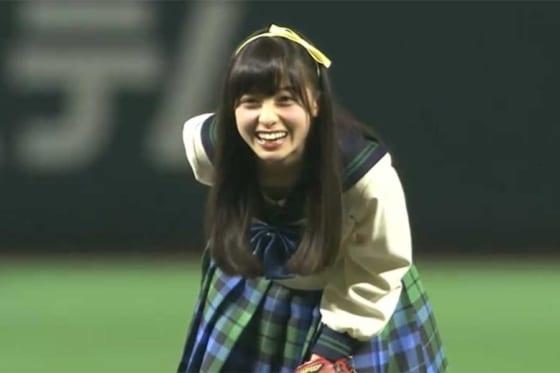 現在は女優として活躍している橋本環奈さん【画像:パーソル パ・リーグTV】